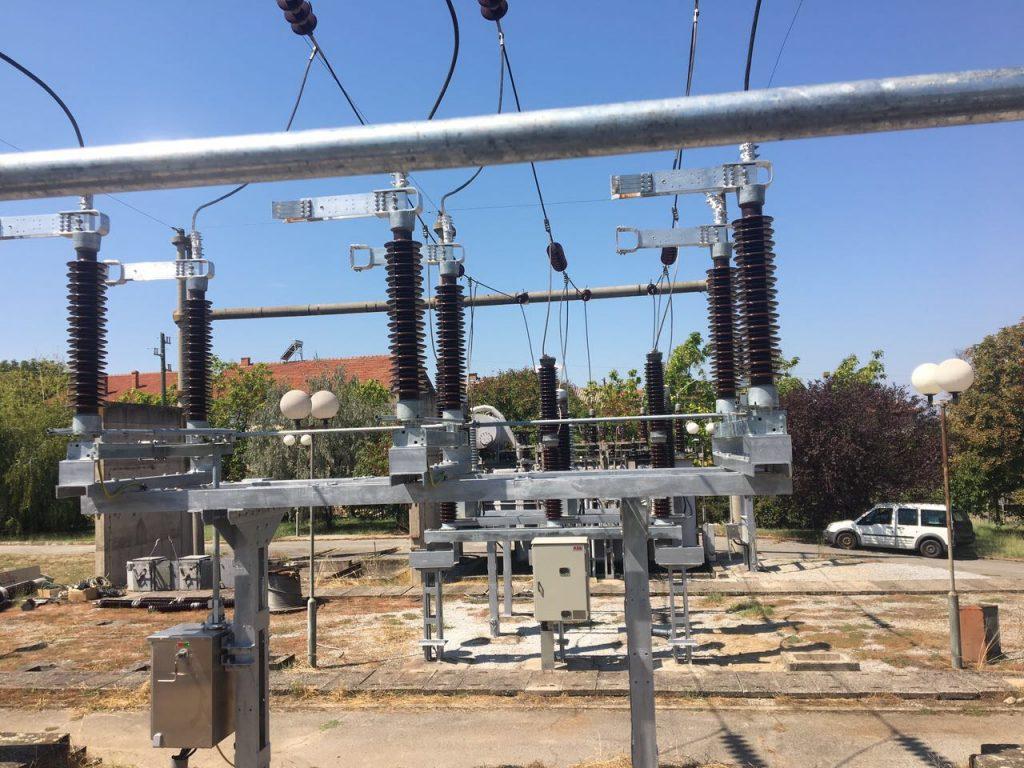 SS 110-20-10 kV Tearce